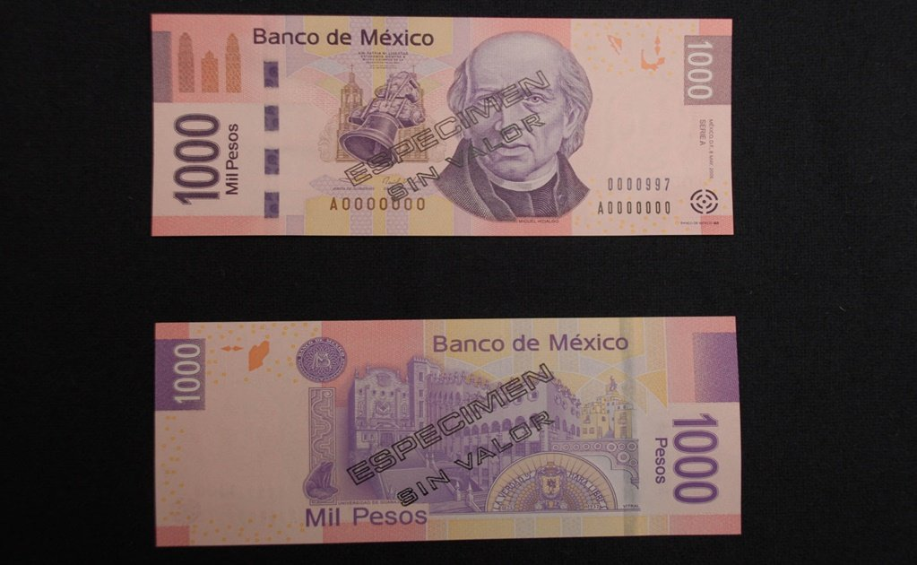 Banxico to issue new MXN $1,000 bill