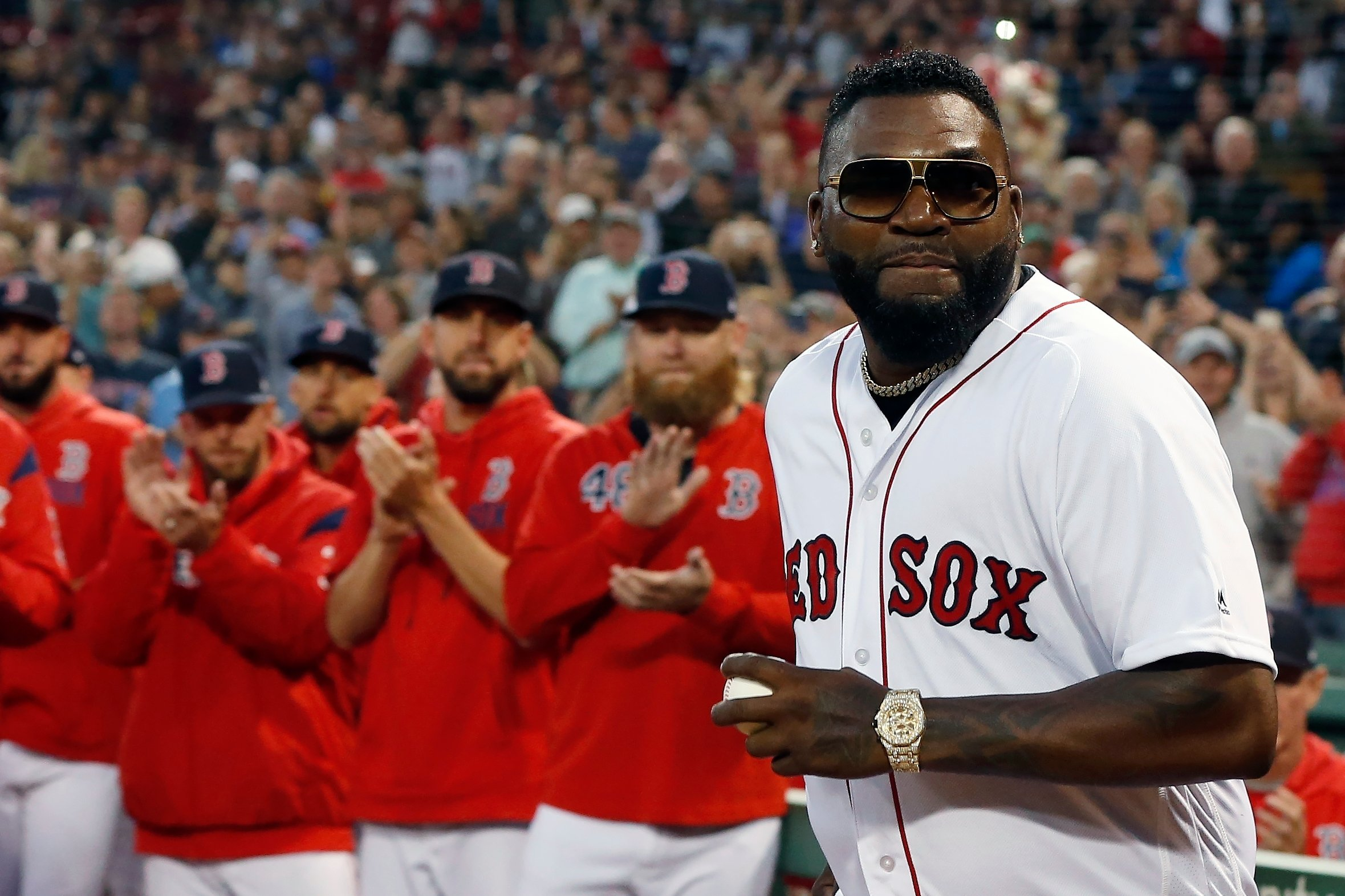 Emotivo regreso de David Ortiz en Fenway Park
