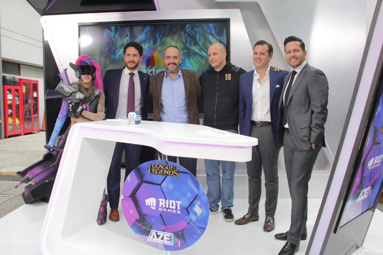 Leagues of Legends Latinoamérica llega a las filas de Azteca eSports