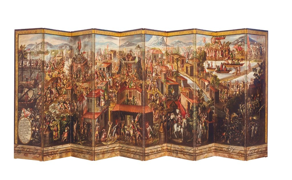 17th century Mexican folding screen to be auctioned by Sotheby's