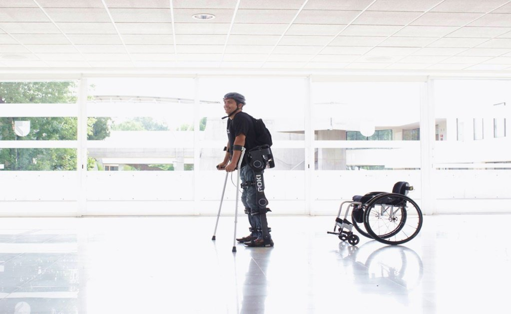 Mexican robot helps patients walk again