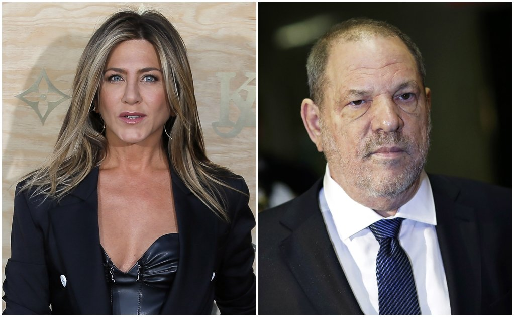 Harvey Weinstein intentó acosar a Jennifer Aniston en 2005