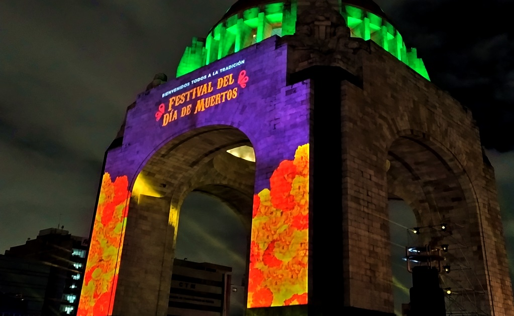 Mexico City's Day of the Dead Festival at the Revolution Monument