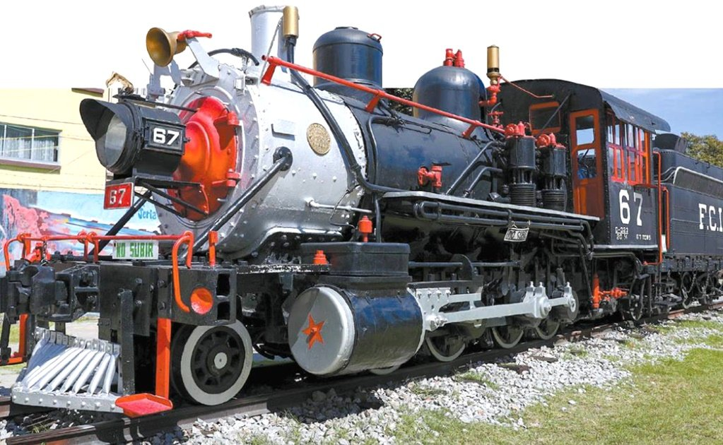 Petra, the famous locomotive named after a Mexican revolutionary woman