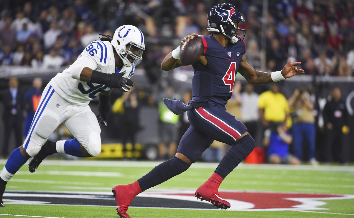 NFL: Texans gana importante duelo a Colts