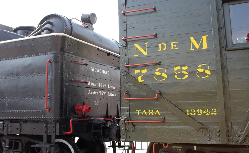 Petra, the famous locomotive from the Mexican Revolution