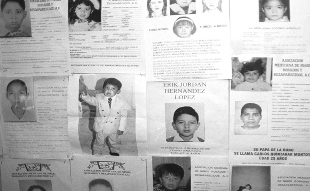 Four children disappear daily in Mexico