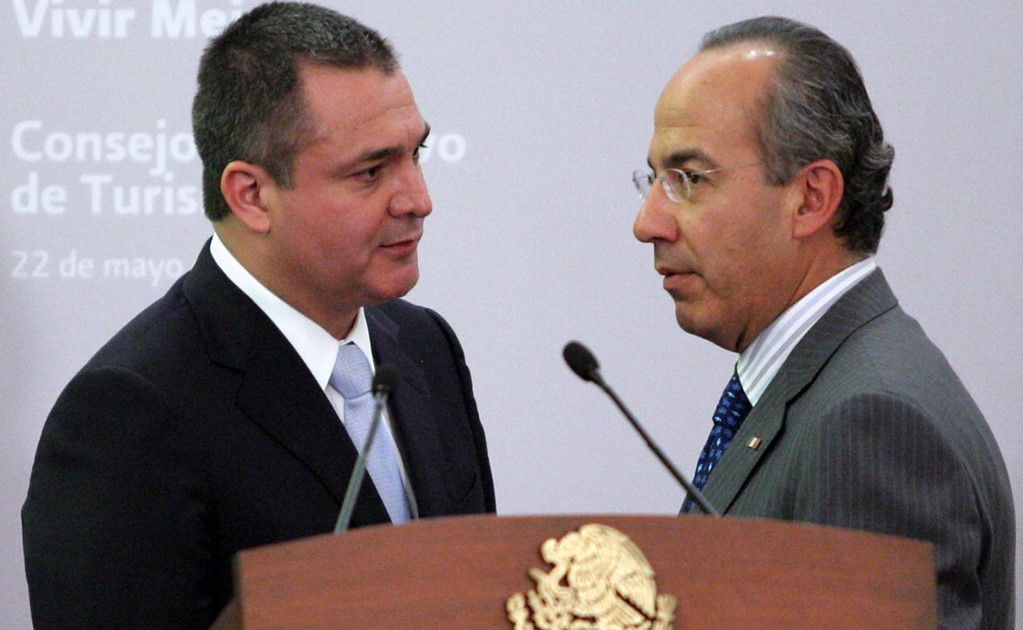 The two previous administrations allegedly transferred millions to account linked to Genaro García Luna