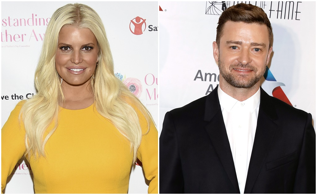 Jessica Simpson y Justin Timberlake