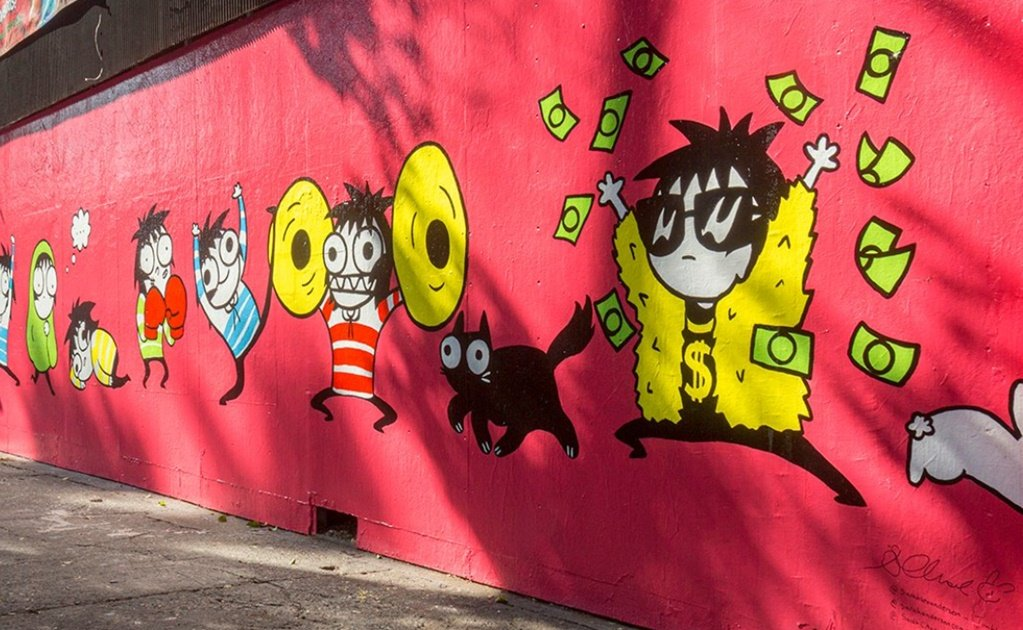 US artist Sarah Andersen's mural vandalized in Mexico City