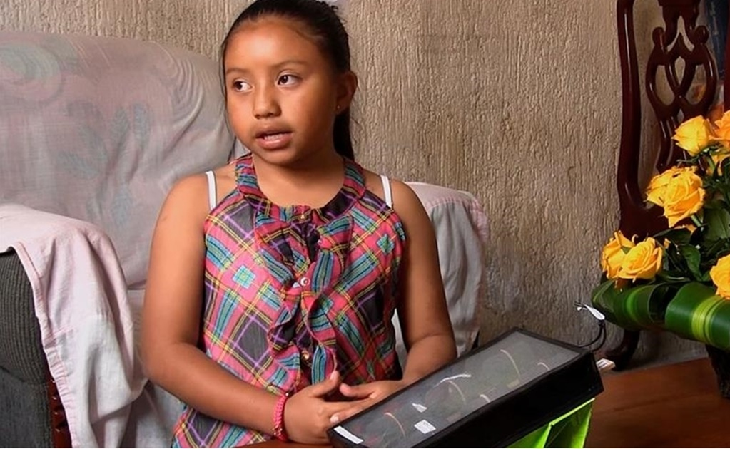 Mexican girl is recognized as outstanding young innovator