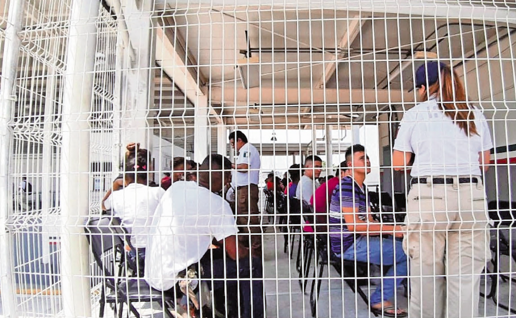 One dead and 10 wounded after riot inside immigration detention center in Mexico
