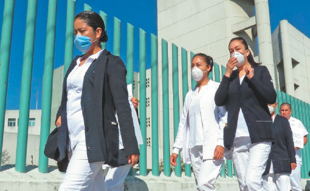 Mexico doesn't have enough doctors and nurses to face the COVID-19 pandemic