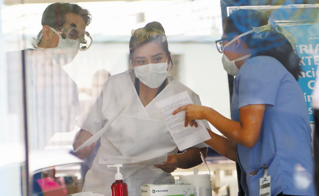Mexican healthcare workers urgently need protective equipment to treat patients infected with COVID-19