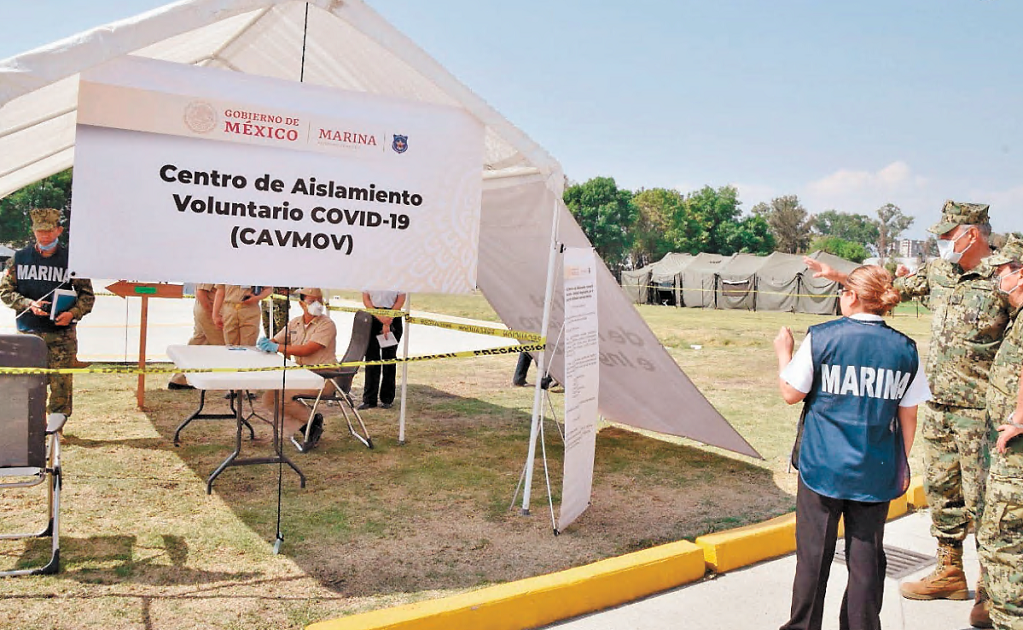 Mexico will open 10 voluntary isolation centers amid the COVID-19 pandemic