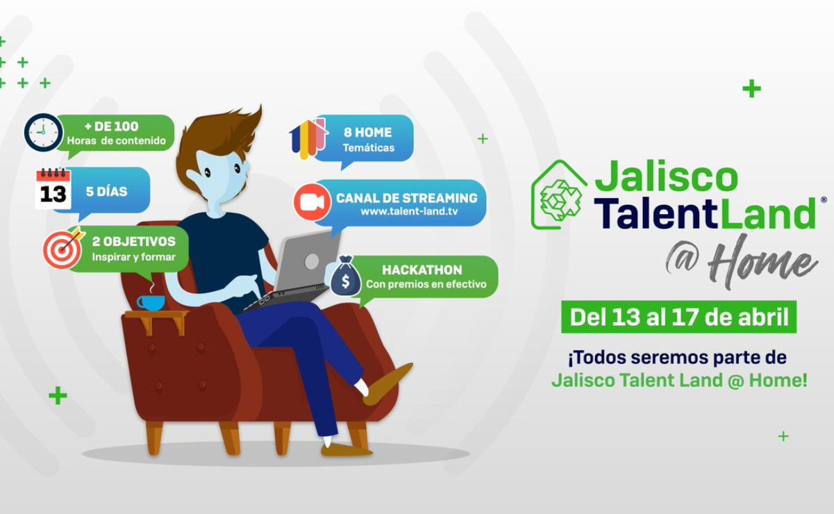 Jalisco Talent Land at Home