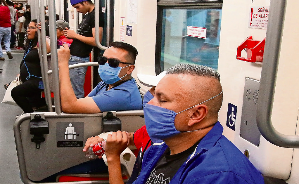 It is now mandatory to wear a face mask to ride Mexico City's subway