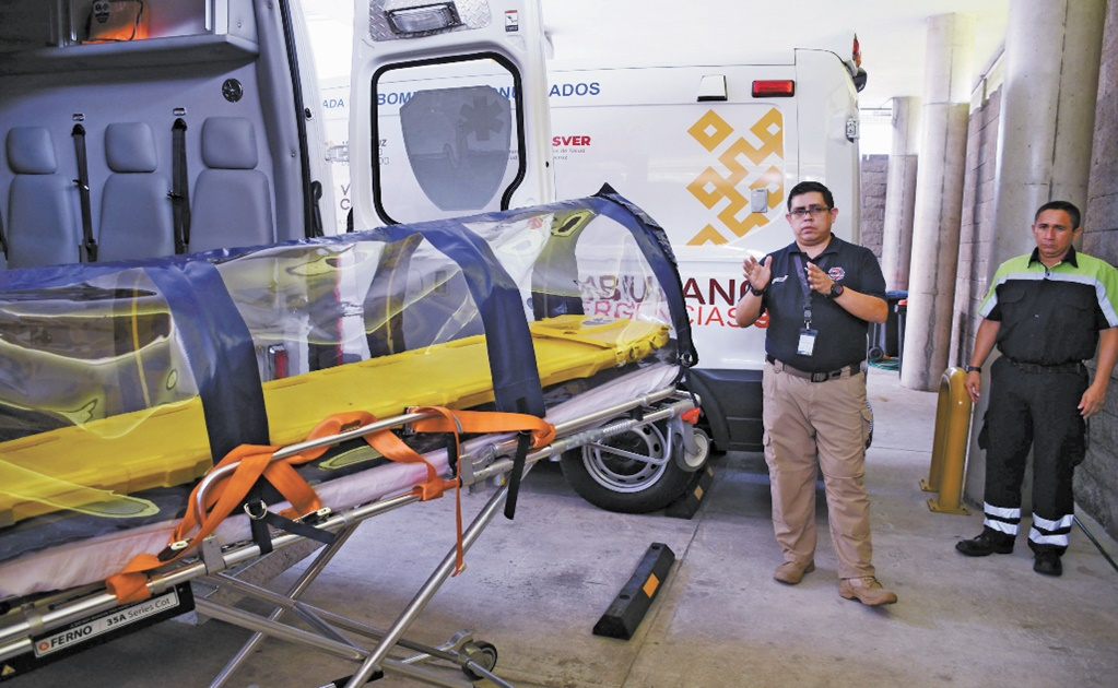 COVID-19: Mexican firemen design isolation pods for coronavirus patients