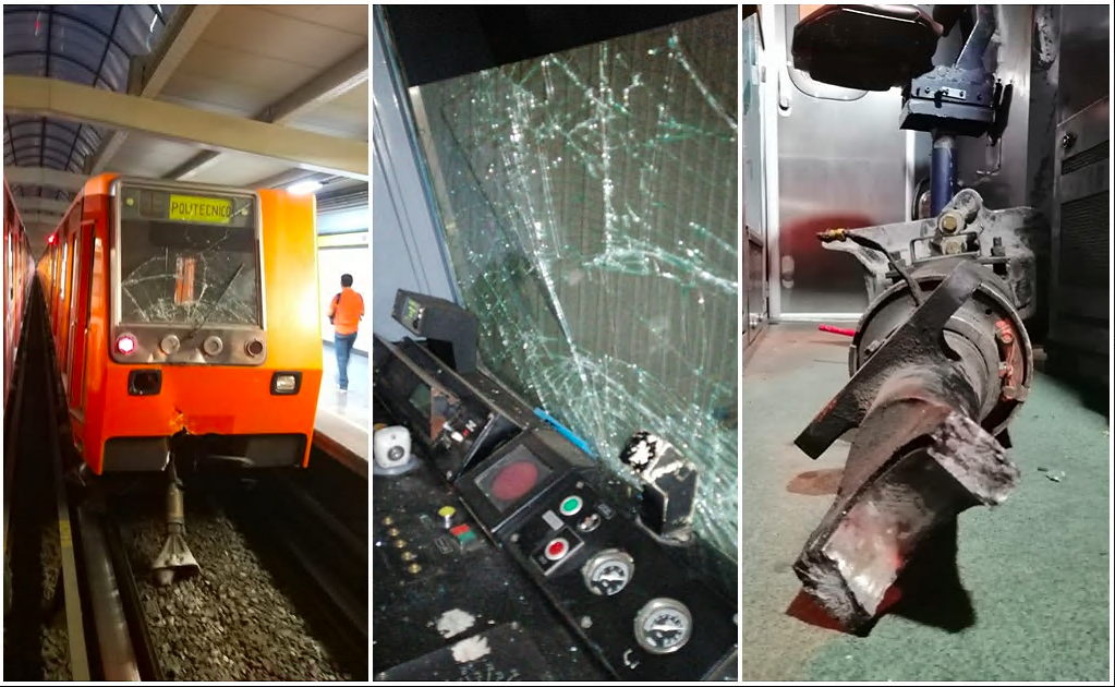 Mexico City's subway system registers another accident