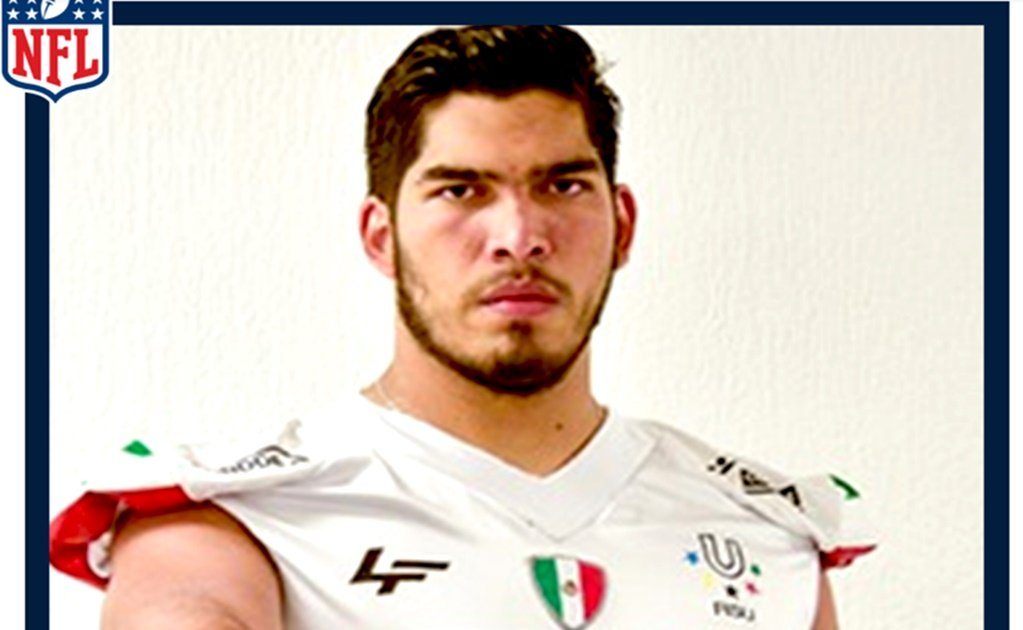 Mexican football player Isaac Alarcón to play in the NFL