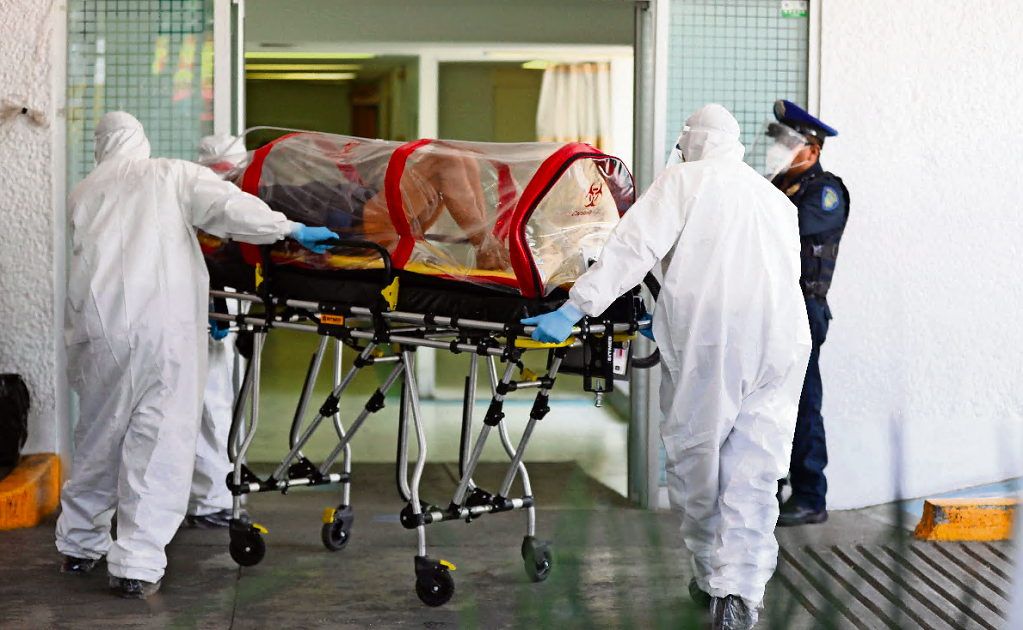 Private hospitals in Mexico City are overflowed with patients infected with COVID-19
