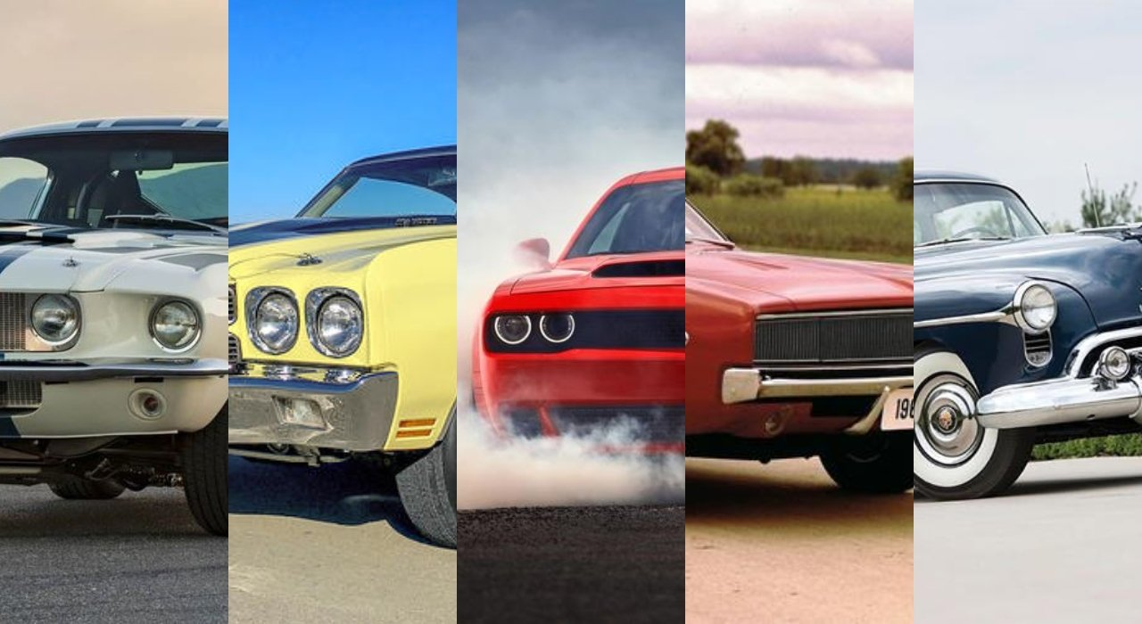 Muscle cars historia