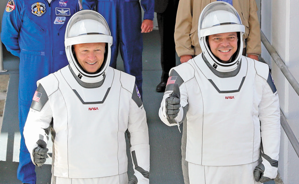 José Fernández, the Mexican costume designer behind the new spacesuits worn by NASA astronauts