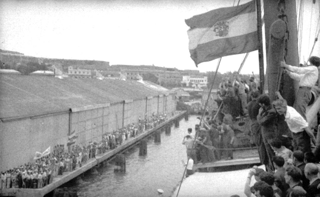 The Sinaia, the vessel that carried the hopes and dreams of Spanish Republican exiles to Mexico