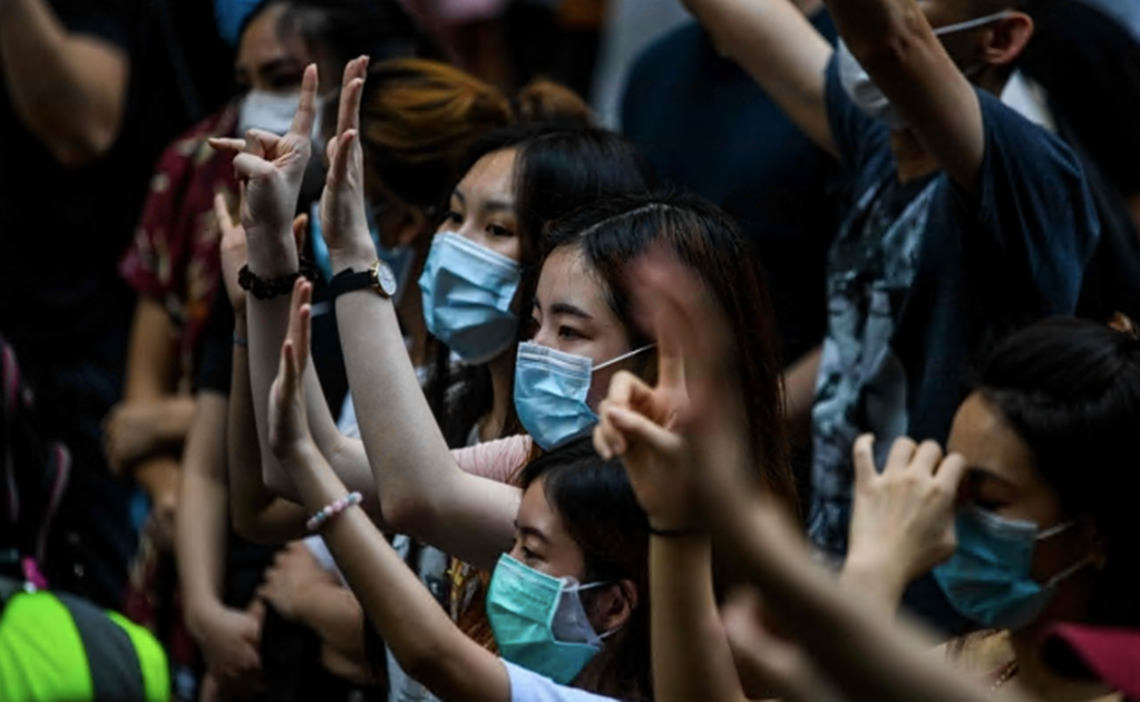 Protests flare up in Hong Kong as first arrests made under new security law