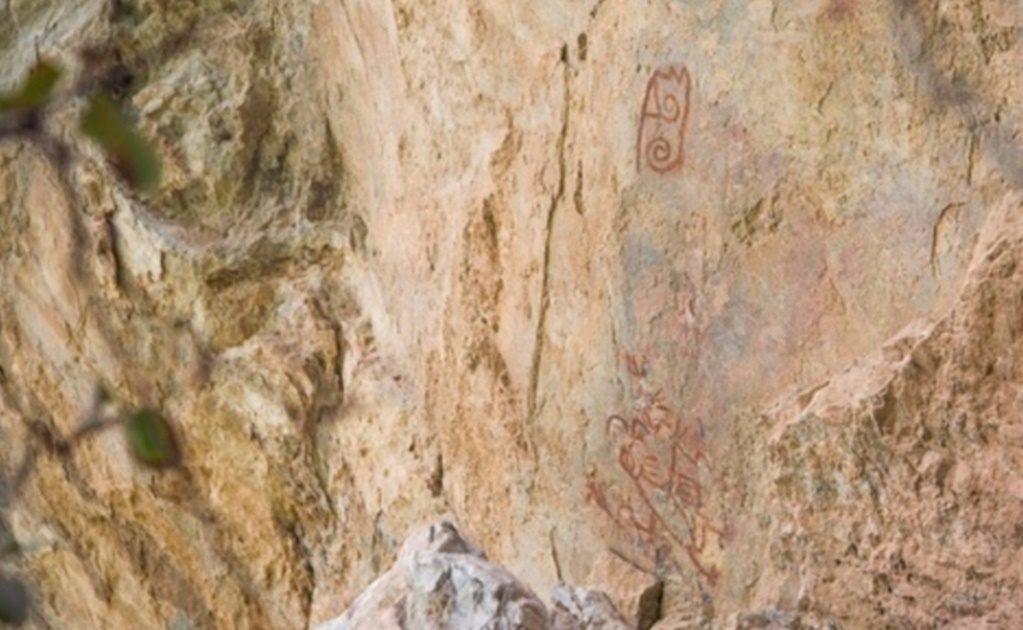 Earthquake unearths prehistoric cave art in Oaxaca revealing the region's hidden anthropological potential