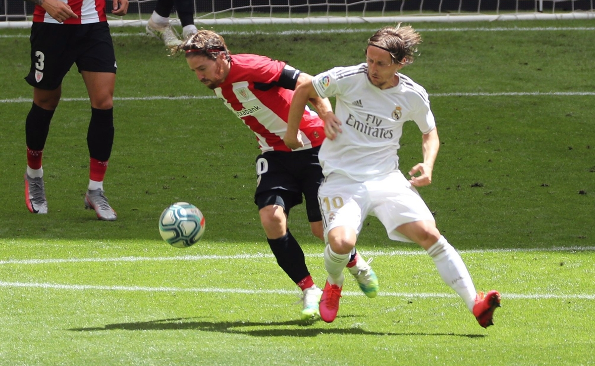 Athletic Club vs Real Madrid, estadísticas y resultado
