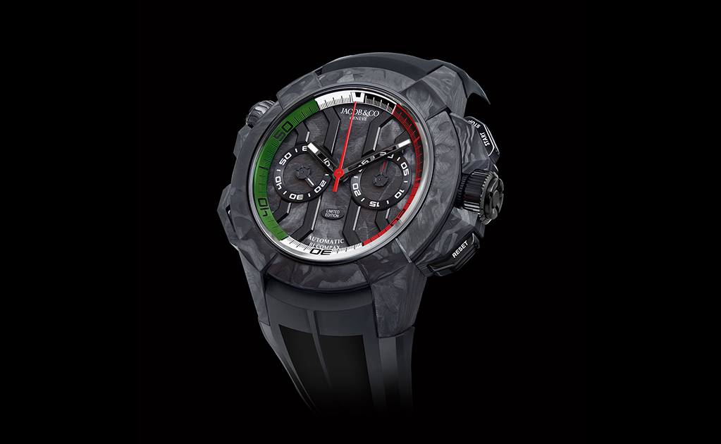 Jacob & Co. Epic X Chrono Carbon Forger-Limited Edition Mexico