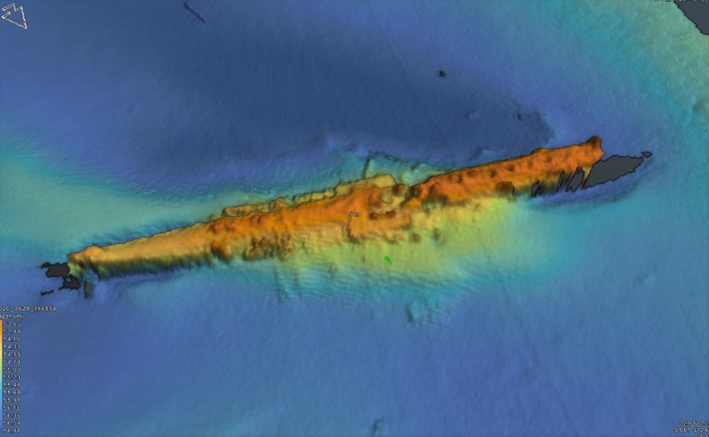 Mexican archeologist finds sunken WWI U-boat off the coast of England