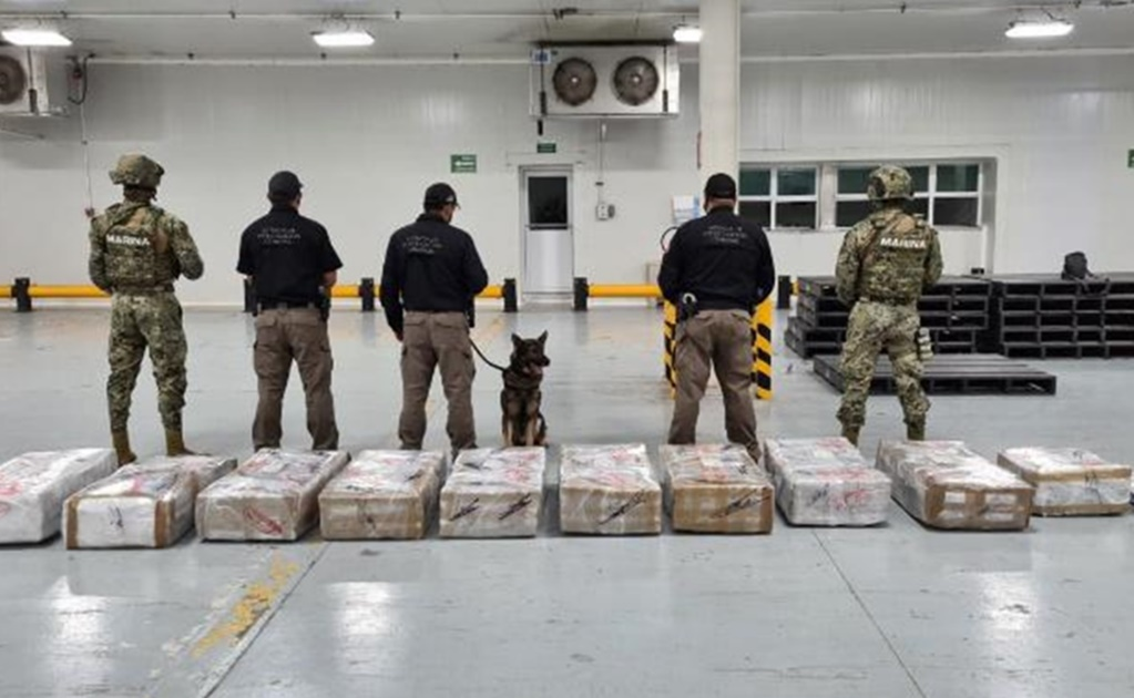 Mexican Navy seizes 678 kg of cocaine in Manzanillo
