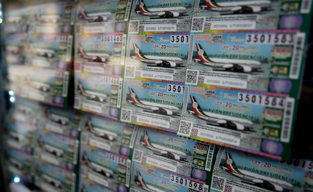 Mexico has sold only 33% of the presidential plane raffle tickets