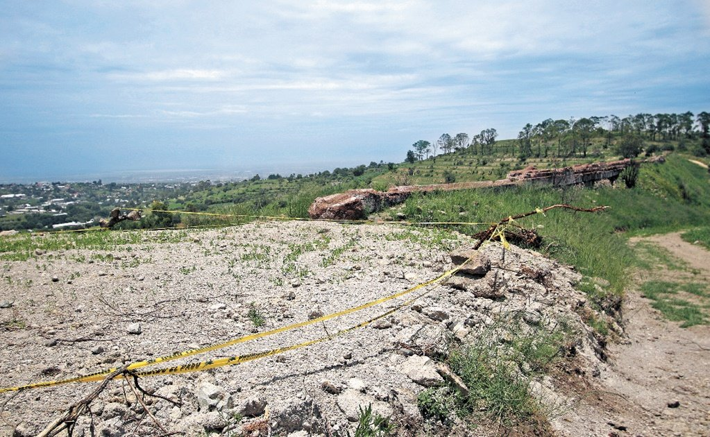 Texcoco archeological site has suffered irreversible damage