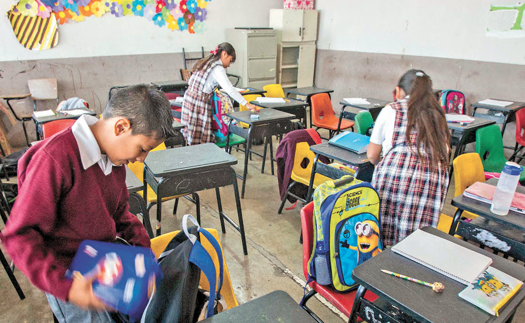 2.5 million Mexican children dropped out of school in 2020