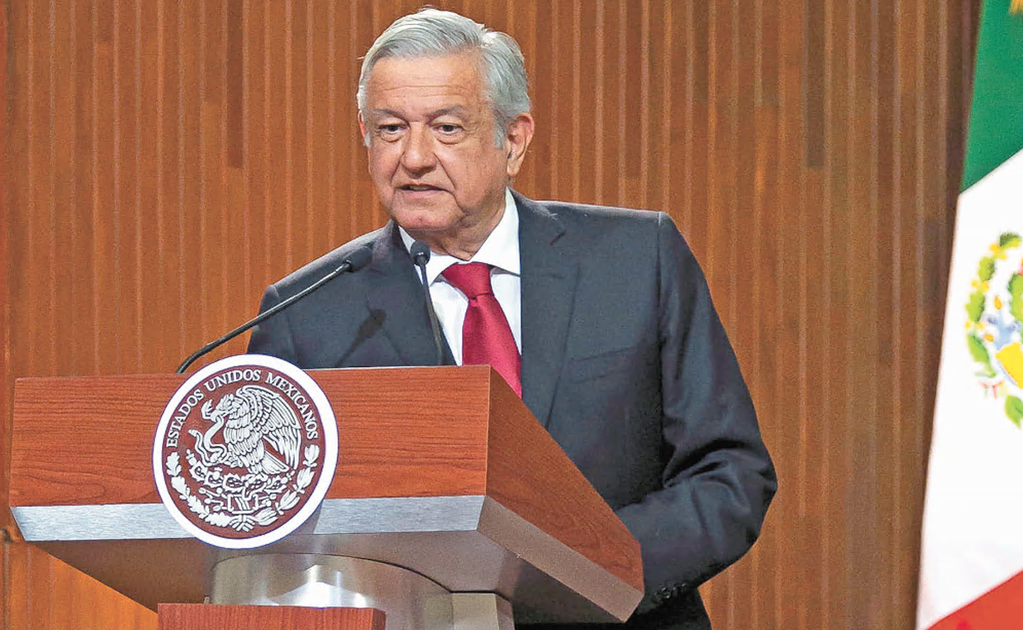 Will Nuevo León authorities force the President to wear a mask?