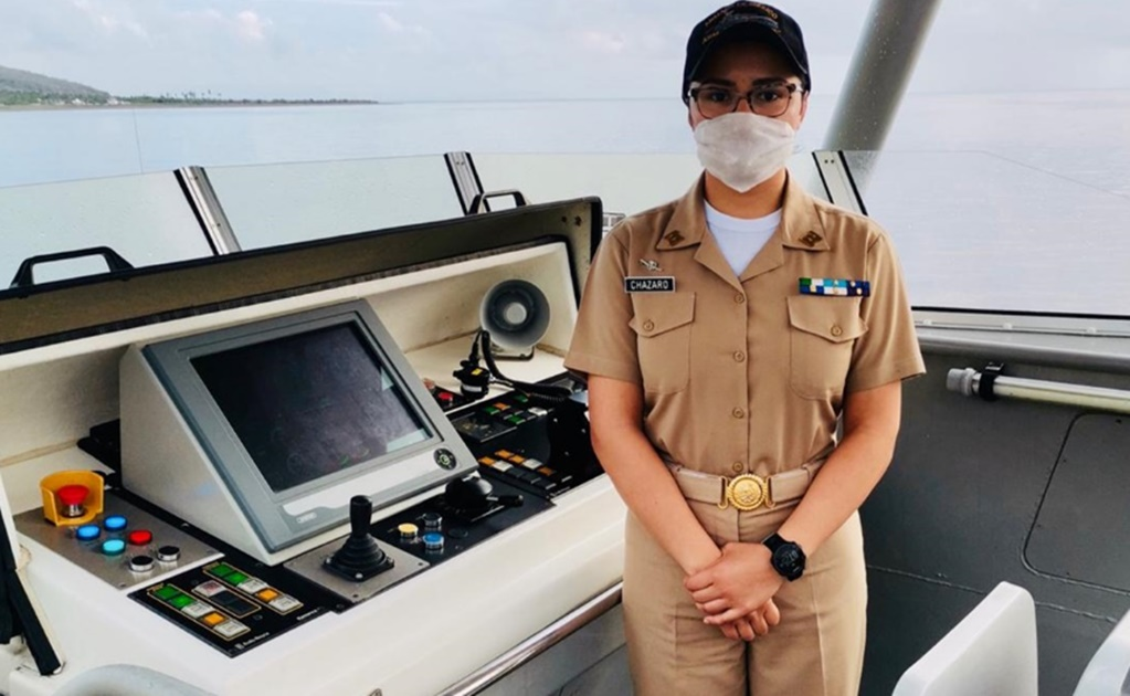 First woman to command Mexico's Navy coast guard cutter in unprecedented appointment