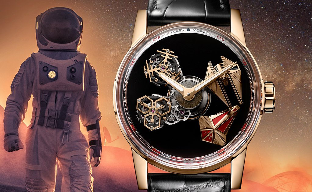 Louis Moinet Space Revolution