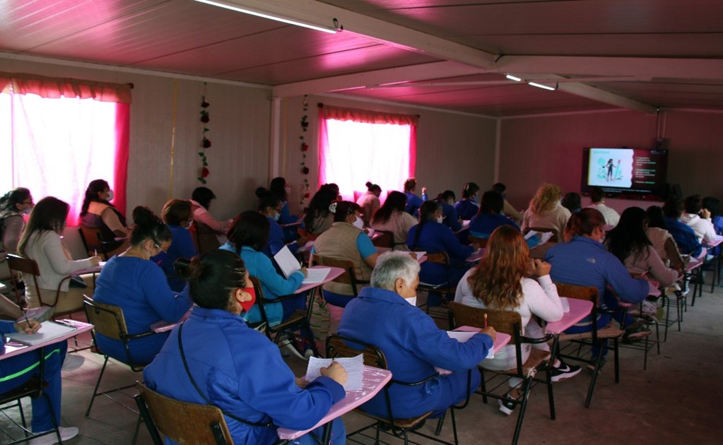 Amid the pandemic, online learning gives Mexican female inmates a chance for a better future