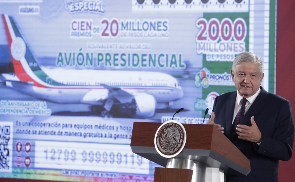 The government will spend MXN 500 million on lottery tickets