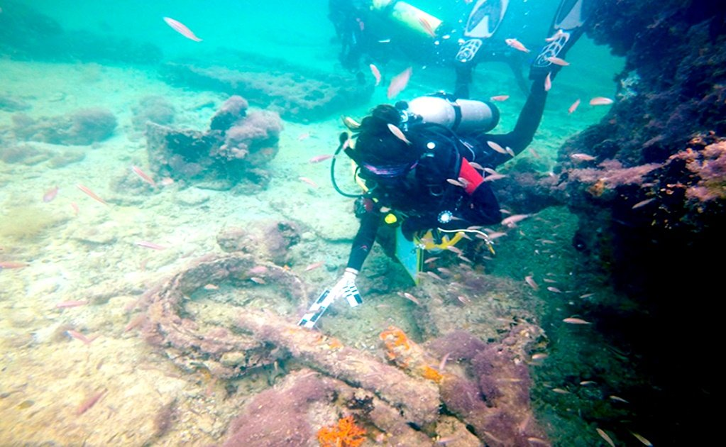 Submerged wreck of first ever Mayan slave ship identified in Mexico