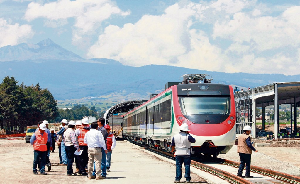 Mexico to invest $26 million on a train that will connect Mexico City to the Santa Lucía airport