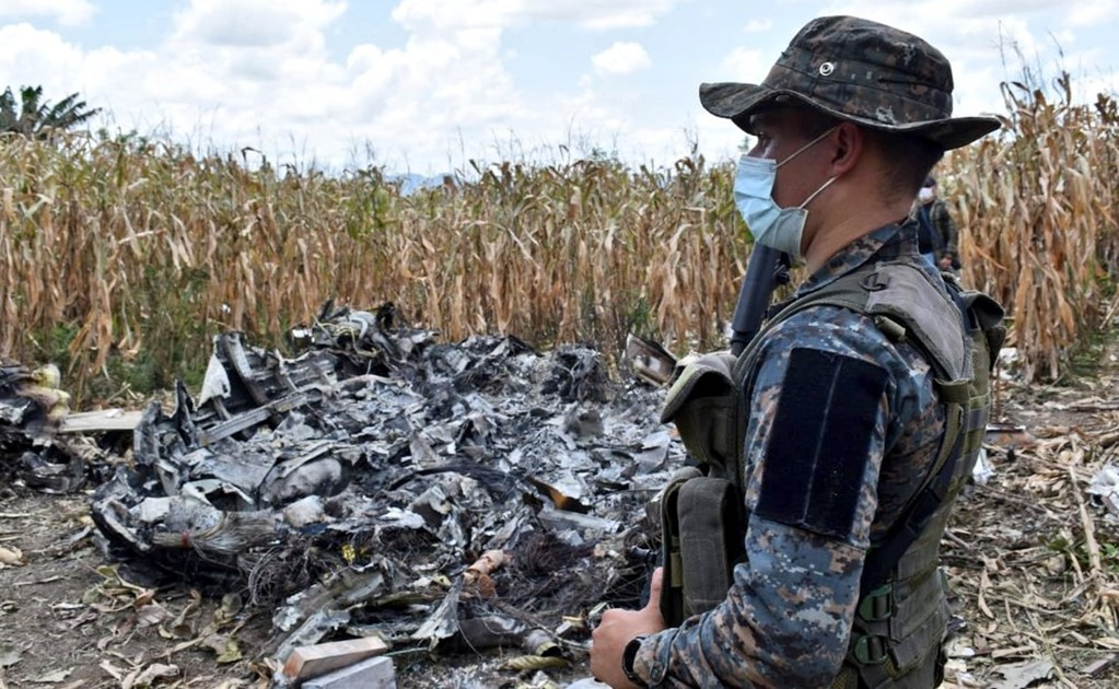 Mexican criminals steal a plane and crash in Guatemala
