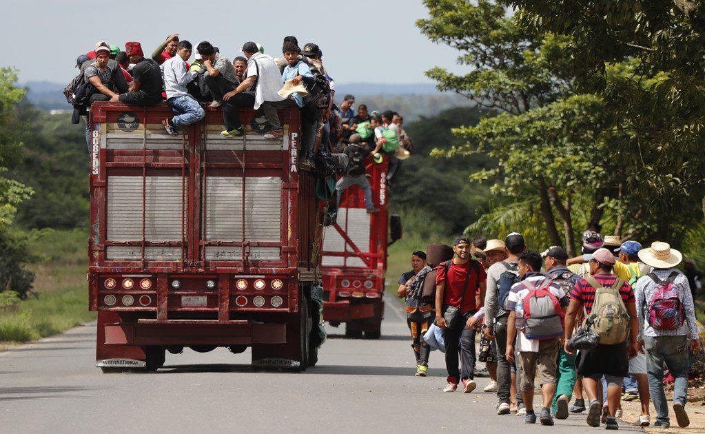 Over 1,000 Honduran migrants are headed to the U.S. border