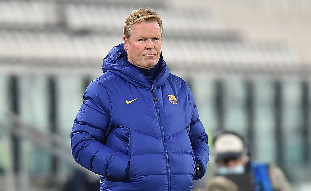 Barcelona, Koeman, Champions League,