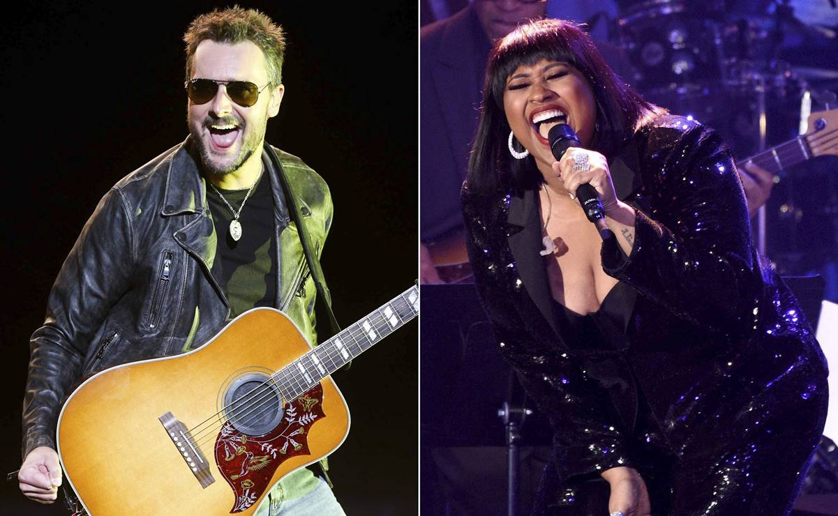 Jazmine Sullivan y Eric Church