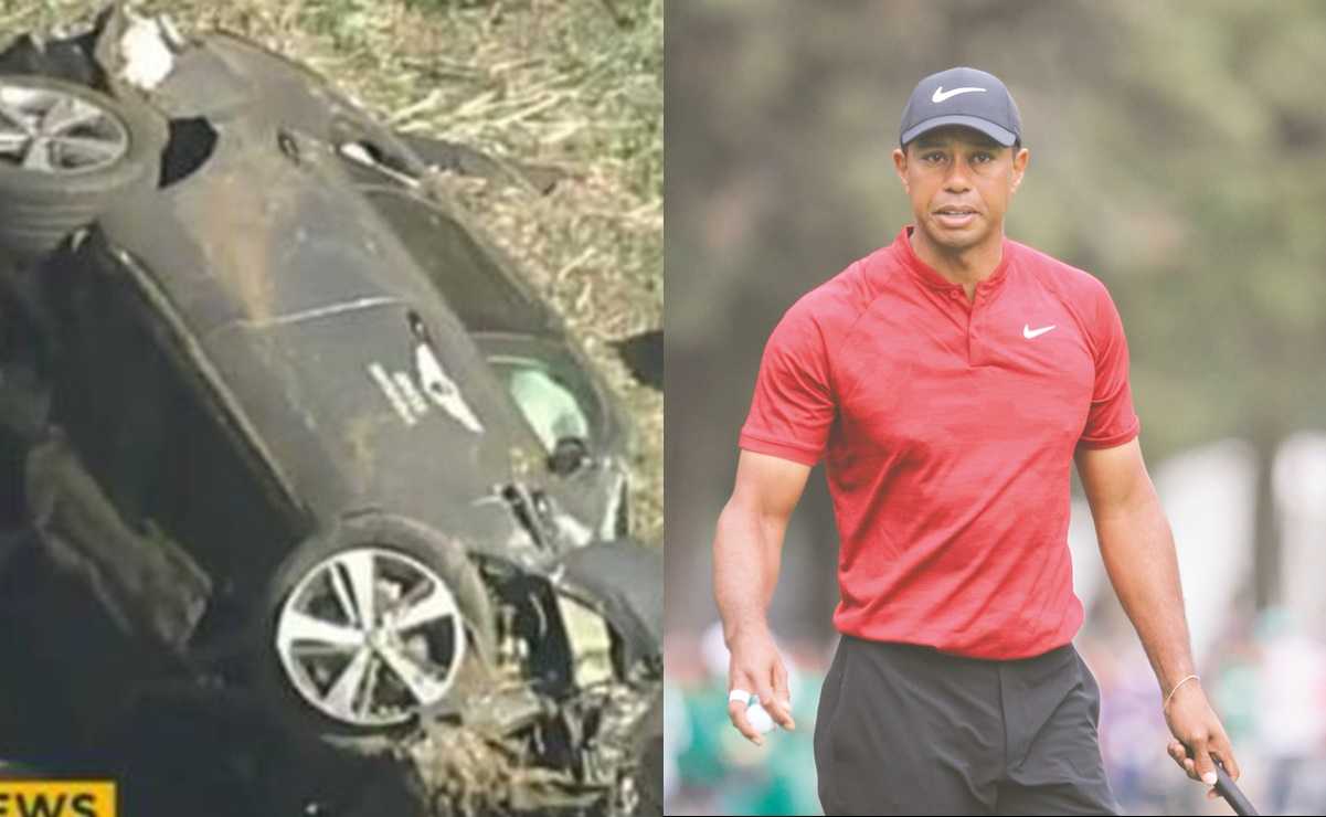 Tiger Woods, Golf, accidente,