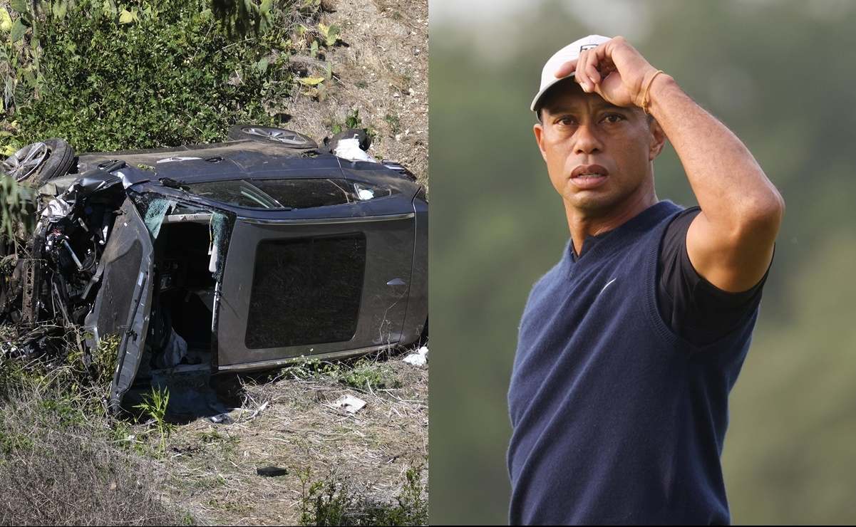 Tiger Woods, Golf, Accidente
